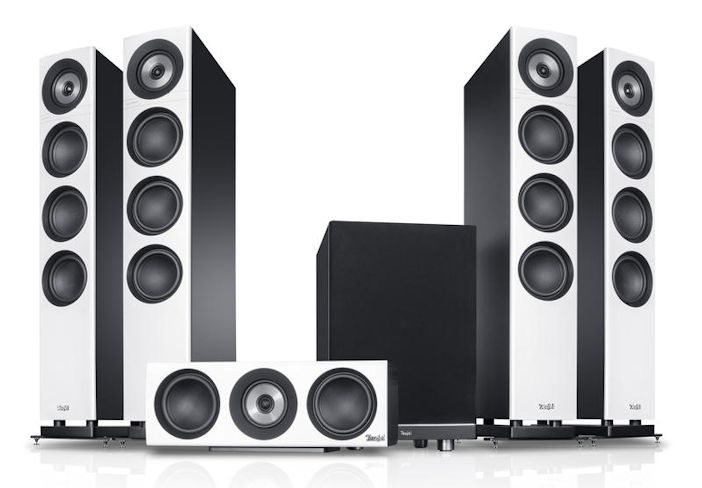 Teufel Definion 3 Surround Power Edition 5.1-Set
