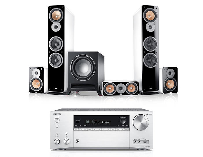 "Teufel Ultima 40 Surround AVR ""5.1-Set"""